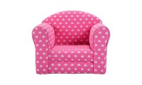 Pink w/Stars Kid Sofa Armrest Chair Couch Living Room ...