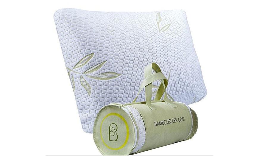 original bamboo pillow comfort luxury memory soft foam cool pillows