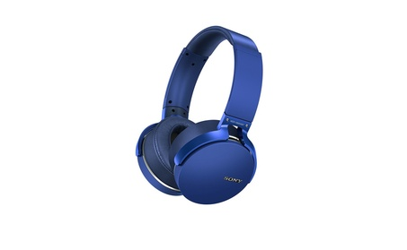 Sony MDRXB950BT/L Extra Bass Bluetooth Headphones, Blue