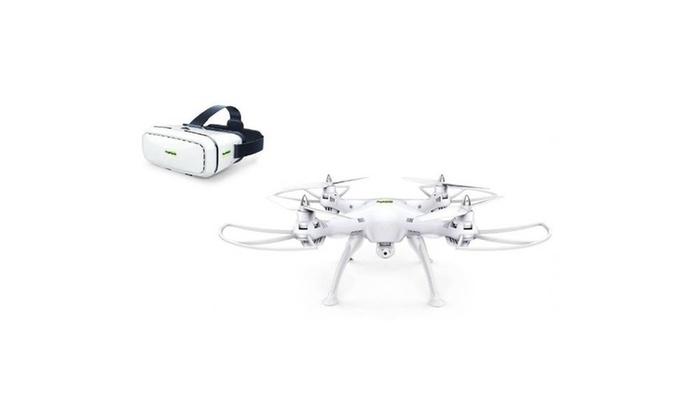 Promark P70 promark drone w/ 3D vr goggles and HD camera