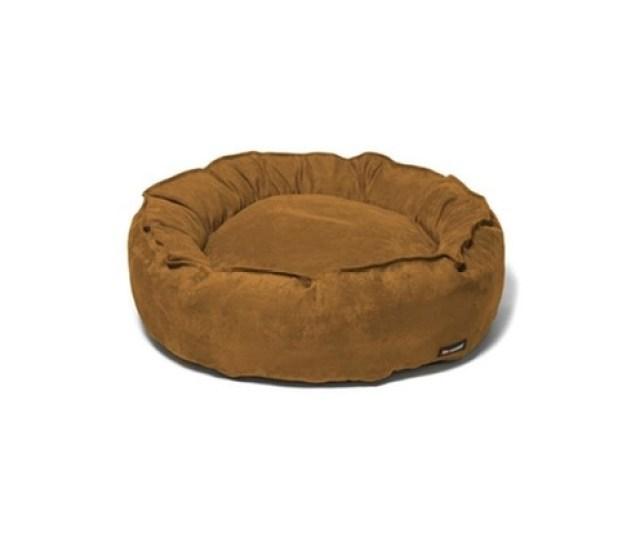 Big Shrimpy Team  Nest Large Bed Saddle Suede