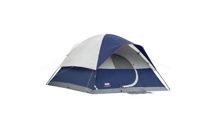 Coleman Elite Sundome 6 Person Tent Led Light