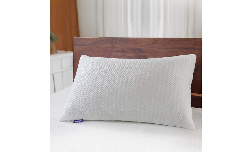sleeping adjustable bamboo charcoal shredded memory foam pillow