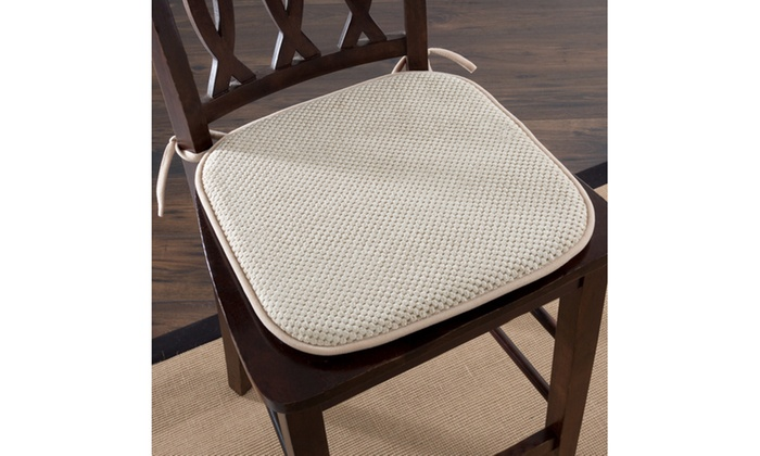 chair pad foam arhaus alex up to 48 off on memory cushion groupon goods lavish home for in or outdoor use