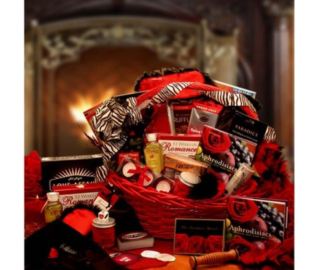 Naughty Nights Couples Romantic Gift Basket