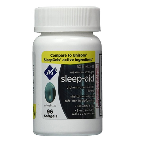 Generic UNISOM SLEEPGELS Members Mark Sleep Aid ...