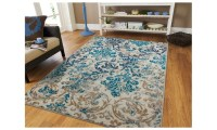 Antique Distressed Area Rug 5x8 Floral Area Rugs 5x7 ...