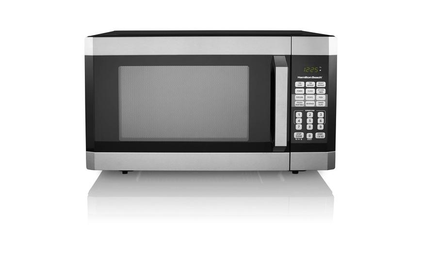 hamilton beach 1 6 cu ft digital microwave oven