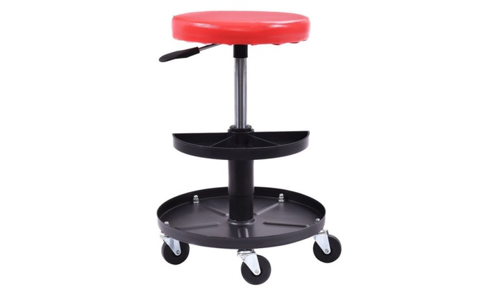 garage chair with wheels most comfortable desk chairs mechanics rolling roller seat work shop repair stool product details