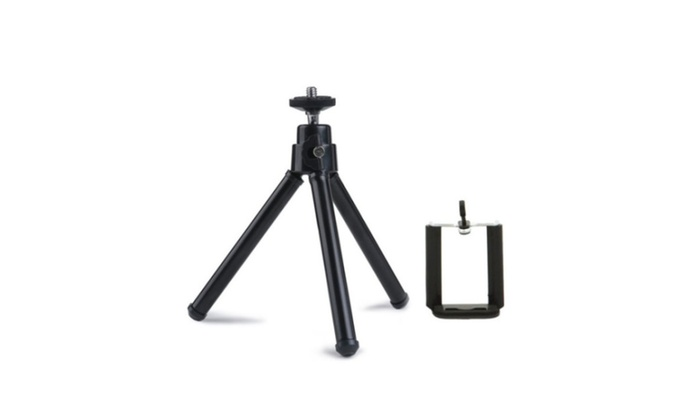 Pro Rotatable Tripod Sticks Stand Black For iPhone 5s 5
