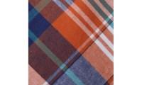 Knot Society Men's Orange Plaid Tie | Groupon