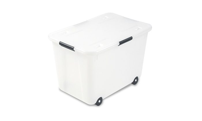 Advantus Rolling Storage Box, Letter/Legal, 15-Gallon Size