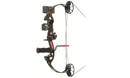 PSE Mini Burner XT Ready to Shoot Bow Pkb 25-29 LH Mossy