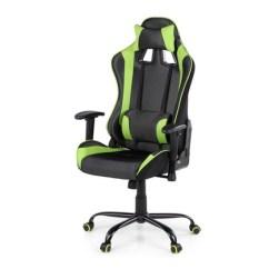 Desk Chair Groupon Grey Fabric Office Gaming High Back Executive Racing Computer