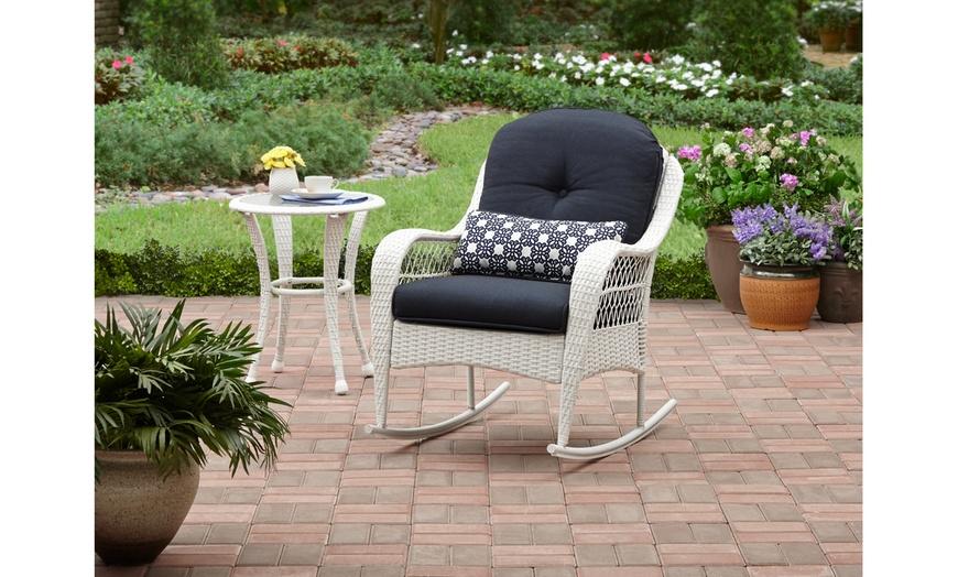azalea ridge outdoor rocking chair white