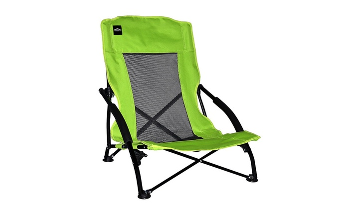 caravan canopy folding chairs desk chair youtube sports 80012900320 compact 44 green groupon
