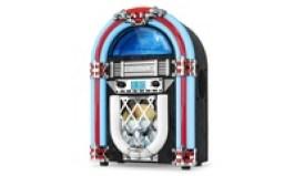 Victrola Nostalgic Wood Countertop Jukebox