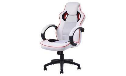 desk chair groupon carpet mat for hardwood floor marvel collection ergonomic office gaming shop high back sport racing style computer swivel