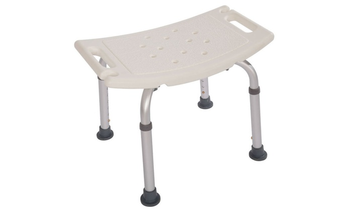 chair without back handmade rocking chairs 7 height adjustable bath shower bench stool seat