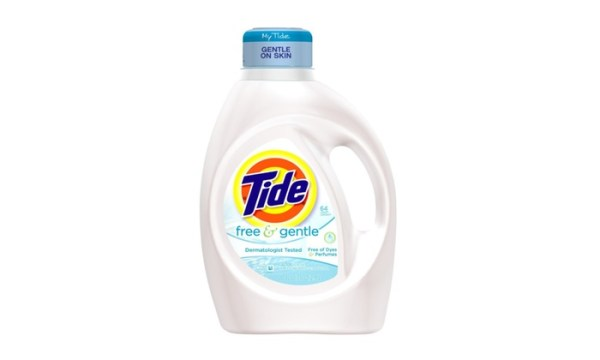 Tide Liquid Laundry Detergent Free and Gentle 100oz 4