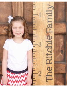 Watch me grow growth chart vinyl decal kit childrens decor also groupon rh