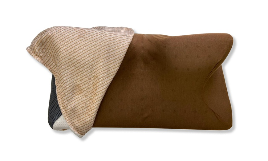carbon snorex touch of copper pillow 8 in 1 cooling pillow