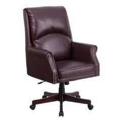 Desk Chair Groupon Wedding Cover Hire Coventry High Back Pillow Leather Executive Swivel Office