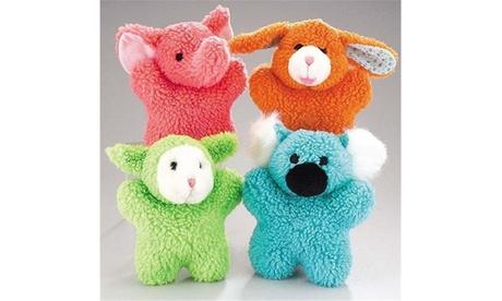 Zanies ZW292 14 Cuddly Berber Baby 8 In Green Lamb
