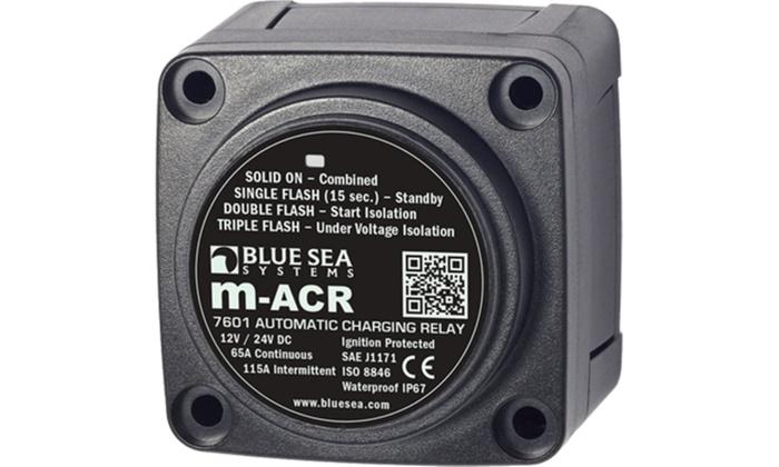 70 Amp 2 Alternator 3 Bank Battery Isolator 26059 Electronics