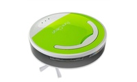 Pure Clean Smart Robot Vacuum Sweeper Cleaner, Pyle The Pure Clean Automatic Vacuum Cleaner by Pyle has an obstacle detection feature which lets it clean around household objects and its low profile design allows it to slide under furnitures. Makes chores a lot easier and faster   Features 3 cleaning modes for the level of cleaning that you desire. Equipped w/ touch panel buttons to let you choose from 10 min, 20 min, max clean w/ 90 min of cleaning operation depending on room size or how dirty the floor is  Equipped w/ a built-in Ni-CD 7.2V rechargeable battery which allows wireless operation so it can freely move in all corners of the room. Charging time is about 3 hours w/ 1600mAh capacity. A power adapter is included in the package  This smart robot cleaner features a removable 0.3L dustbin instead of a bag and also equipped w/ a detachable brush for easy cleaning. Just open the tray and empty it into the trash after vacuuming. Works on hardwood, carpet floors   Debris Sweeper 4.0'' Diameter Brush, Vacuum Cleaning 7.0'' Brush Length, Battery Type: NI-CD 7.2V, 1300mAh, 3 hrs charge time, Run-Time: 90 Min,0.3L Dust Bin Capacity, Unit Size: Diameter - 11.3'', Height - 2.3'' Pure Clean Smart Robot Vacuum Sweeper Cleaner, Pyle  Green      Condition: New      Dimensions: 4.0 inches (H) x 14.0 inches (W) x 15.0 inches (L)      Weight: 5.0 pounds        Made in United States