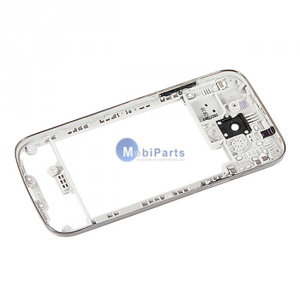Carcasa mijloc Samsung I9190 Galaxy S4 mini argintie