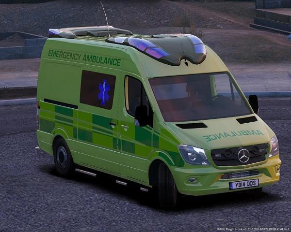 Mercedes Sprinter Ambulance - Exploring Mars