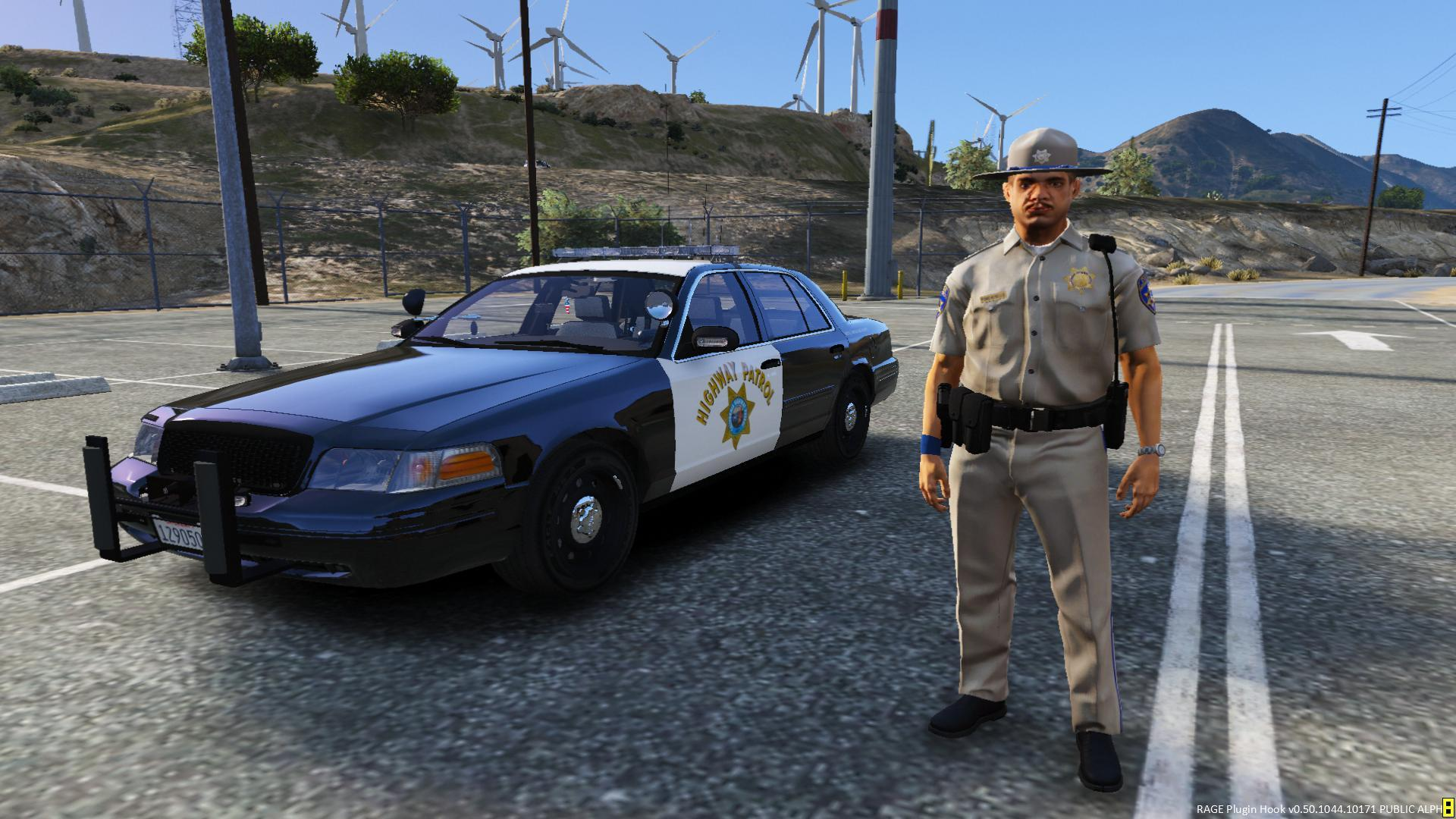 Crown Vic Car Wallpaper California Highway Patrol Officer Gta5 Mods Com