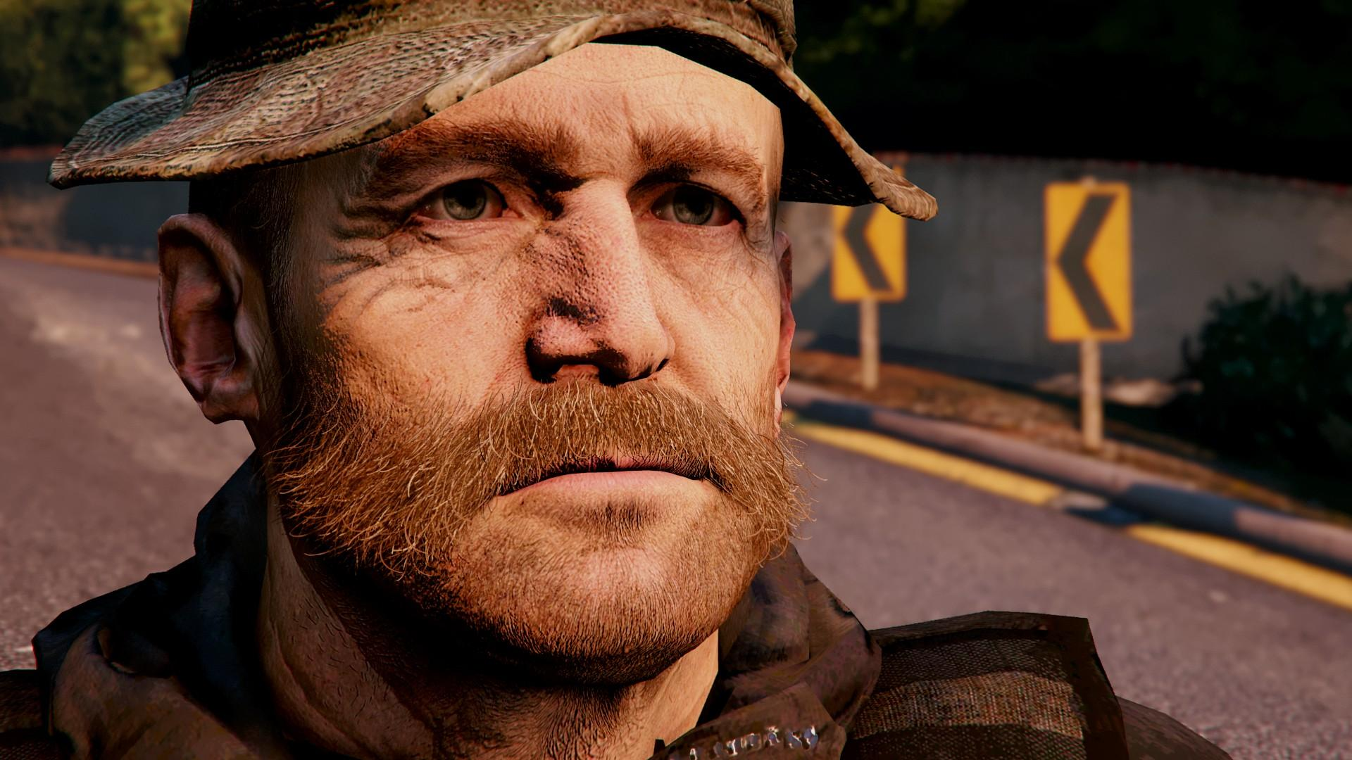 Cpt Price From CoD 4 Remastered Add On Replace GTA5
