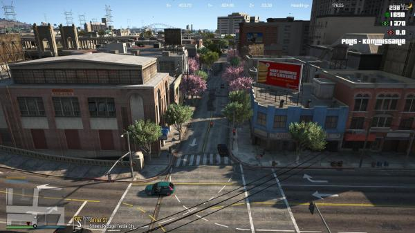 City Map Legion Square And Police Station Fivem - Year of