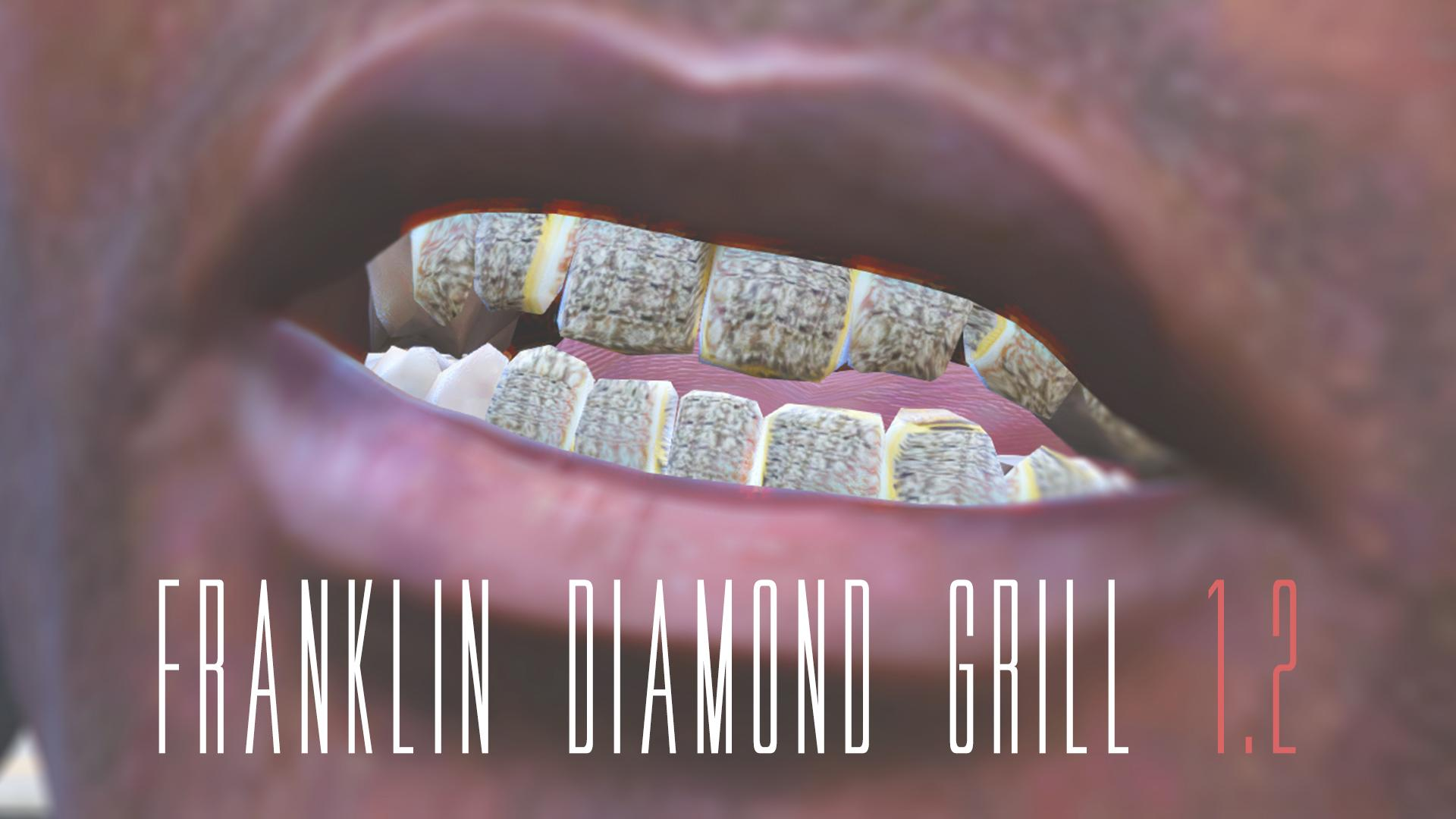 Bape Wallpaper Hd Franklin Diamond Grill Gta5 Mods Com