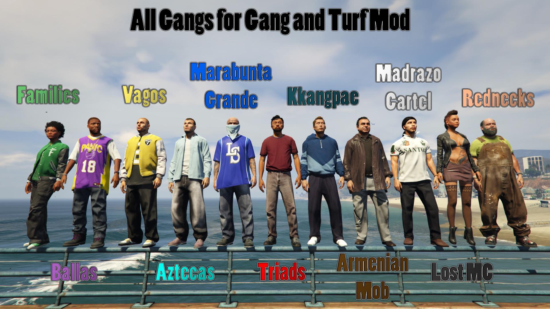 All Gangs for Gang and Turf Mod - GTA5-Mods.com