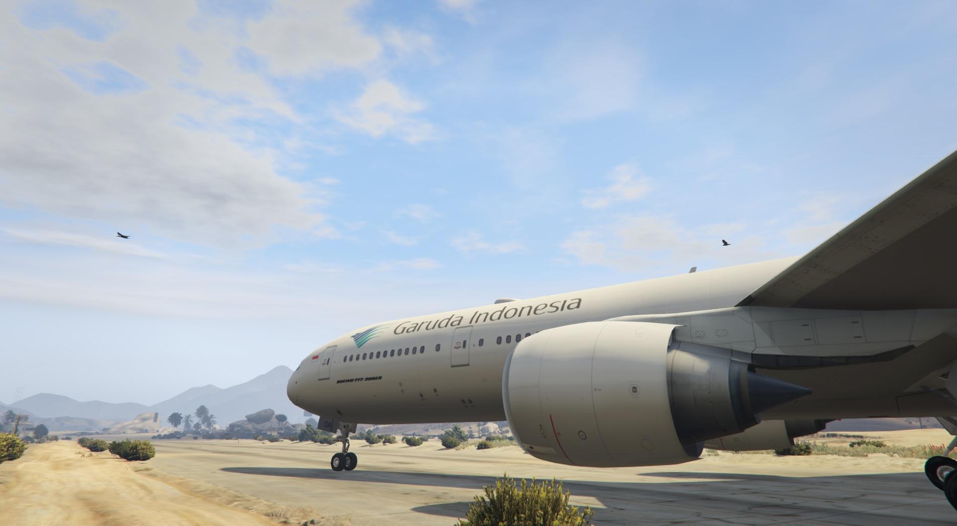 Garuda Indonesia Livery for Boeing 777-300ER - GTA5-Mods.com