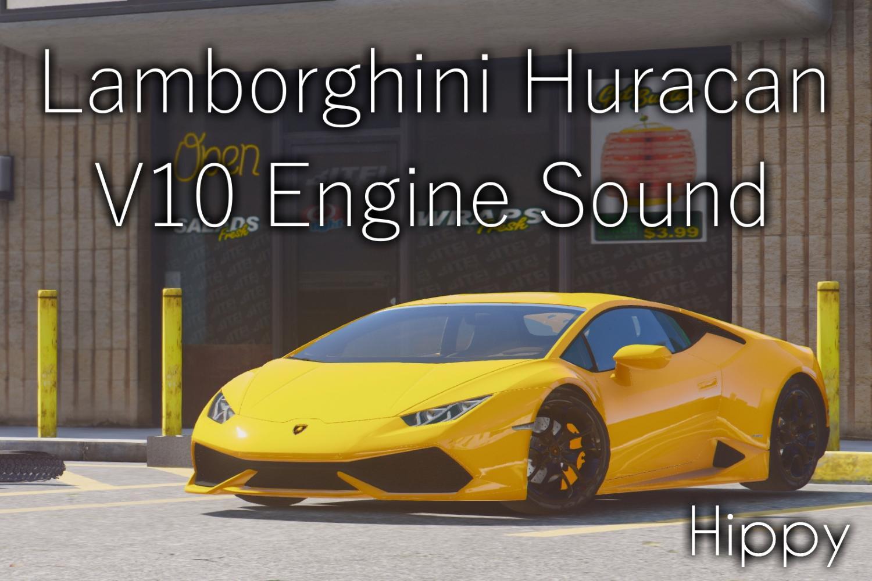 Lamborghini Huracan V10 Engine Sound Gta5modscom