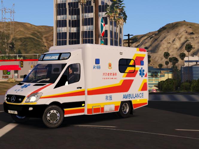 Mercedes-Benz Sprinter | Hong Kong Ambulance [ELS] - GTA5-Mods.com