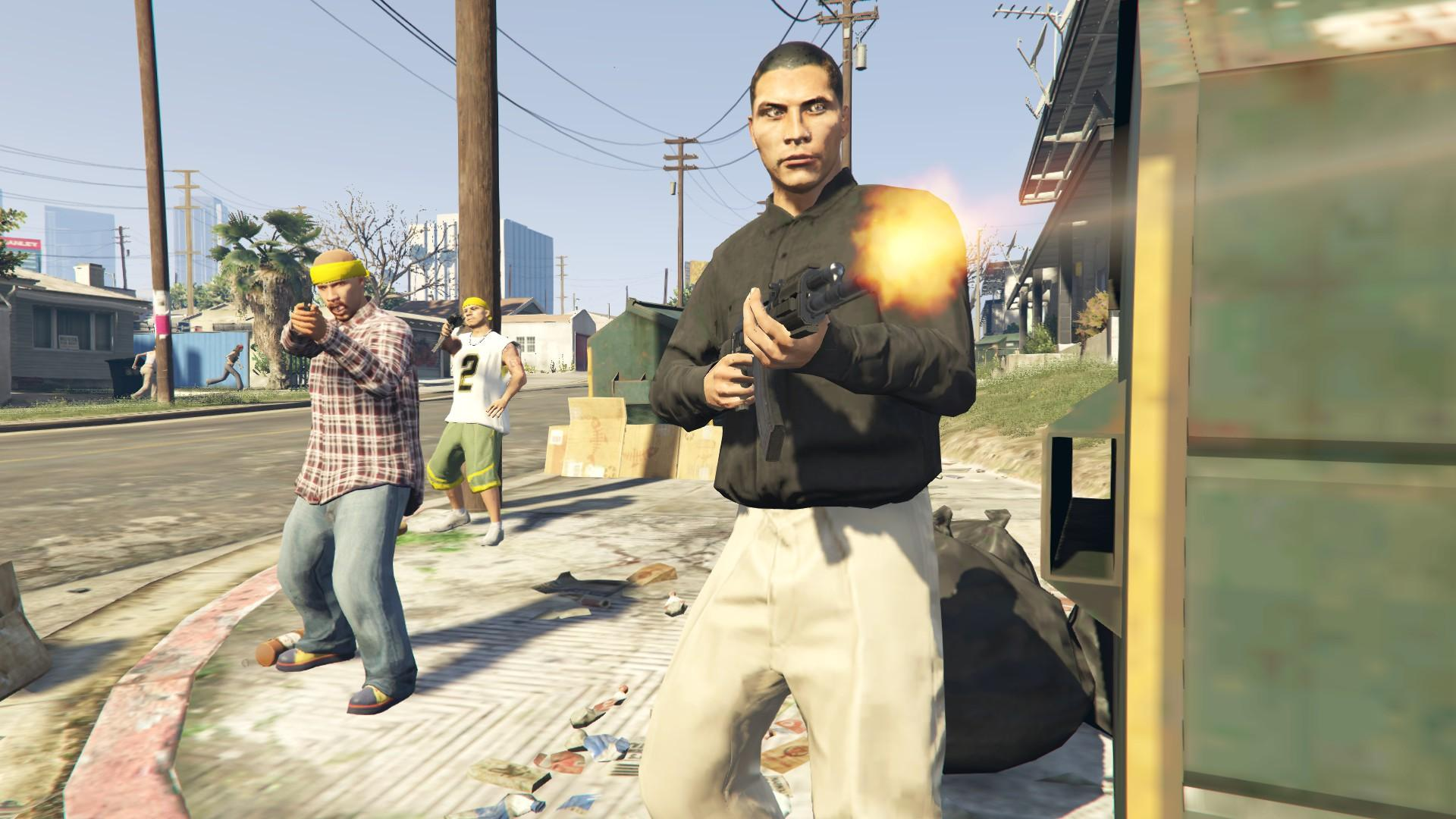 New Gangster Aim Variations and Gang Walkstyles - GTA5-Mods.com