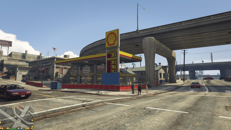Shell Bp Caltex Petrol Stations Gas Tank Trailers