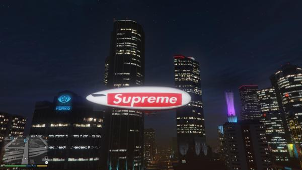 supreme Supreme Blimp [HD] [Atomic Blimp Reskin] - GTA5-Mods.com