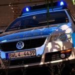 Vw Passat B6 Variant Polizei Bawu Addon Replace Els Gta5 Mods Com
