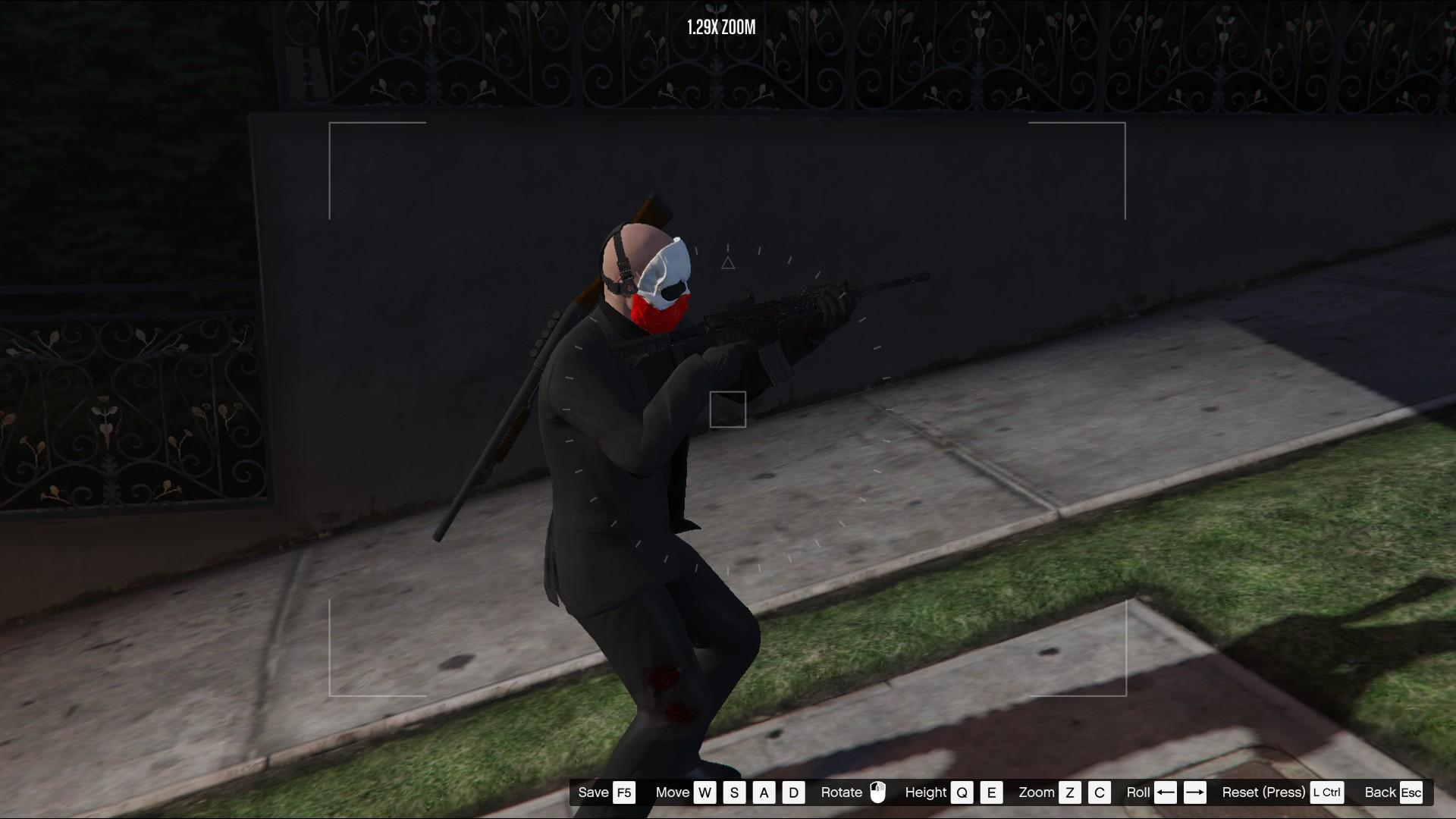 wolf from payday 2(mp model)