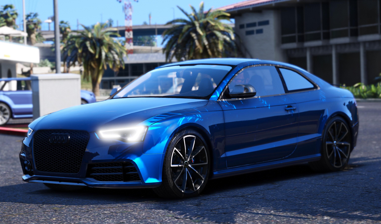 Stanced Car Wallpaper Hd 2014 Audi Rs5 Gta5 Mods Com