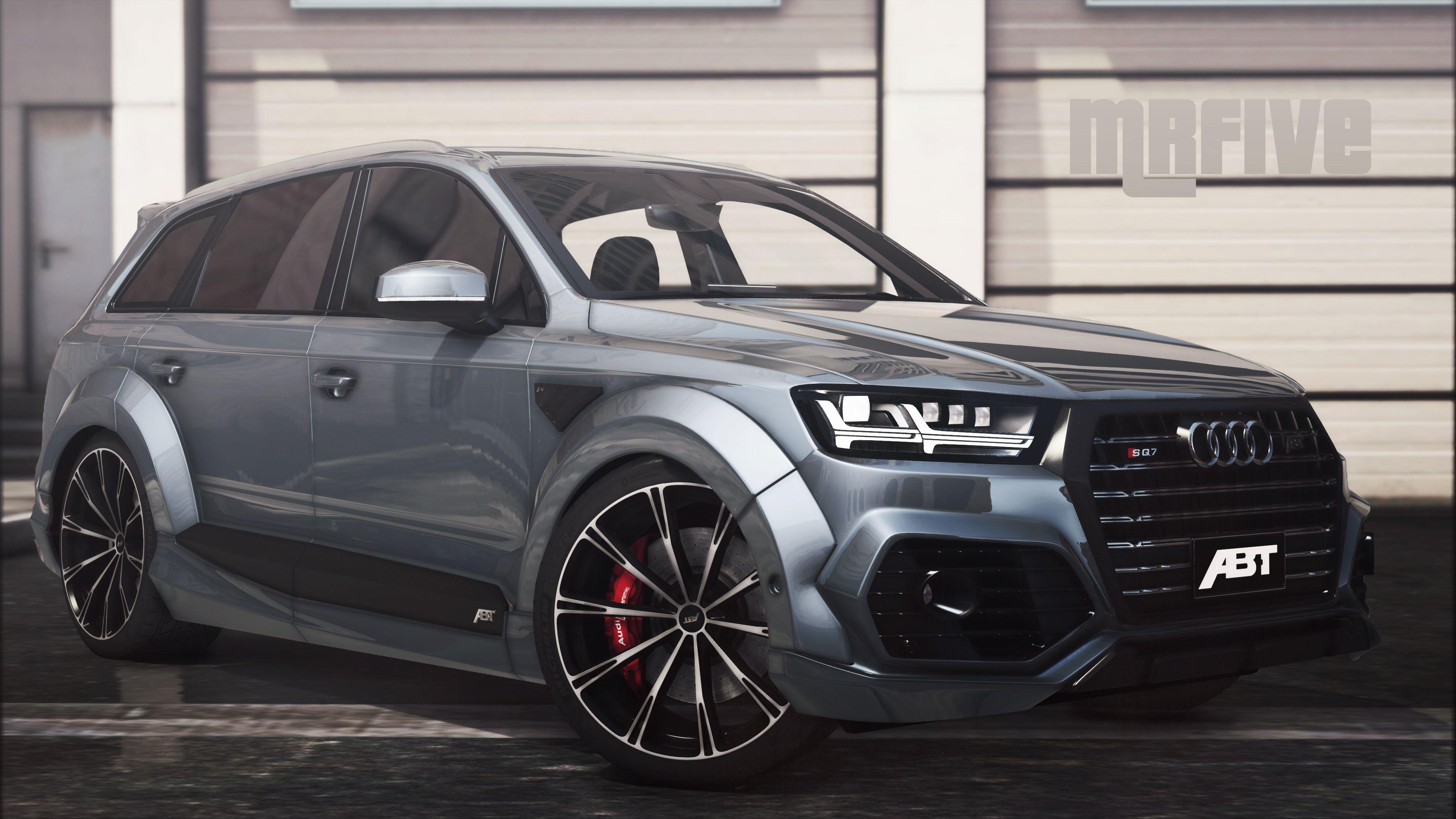 Audi A6 3d Wallpaper Audi Sq7 2016 Add On Abt Tuning Gta5 Mods Com