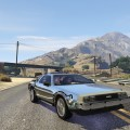 Back to the future delorean time machine 3 car pack gta5 mods