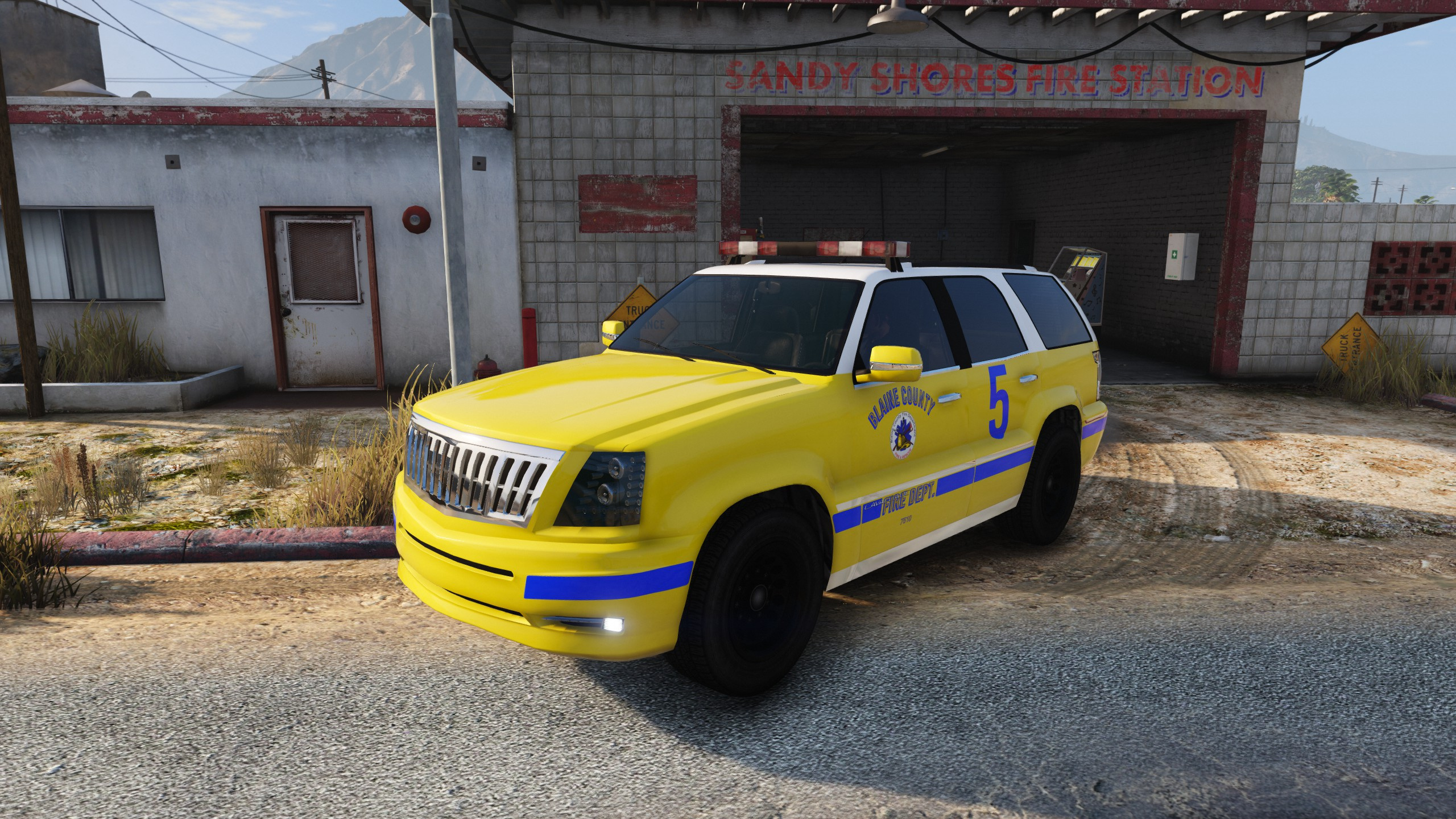 Addon Blaine County Fire Department Command Cars
