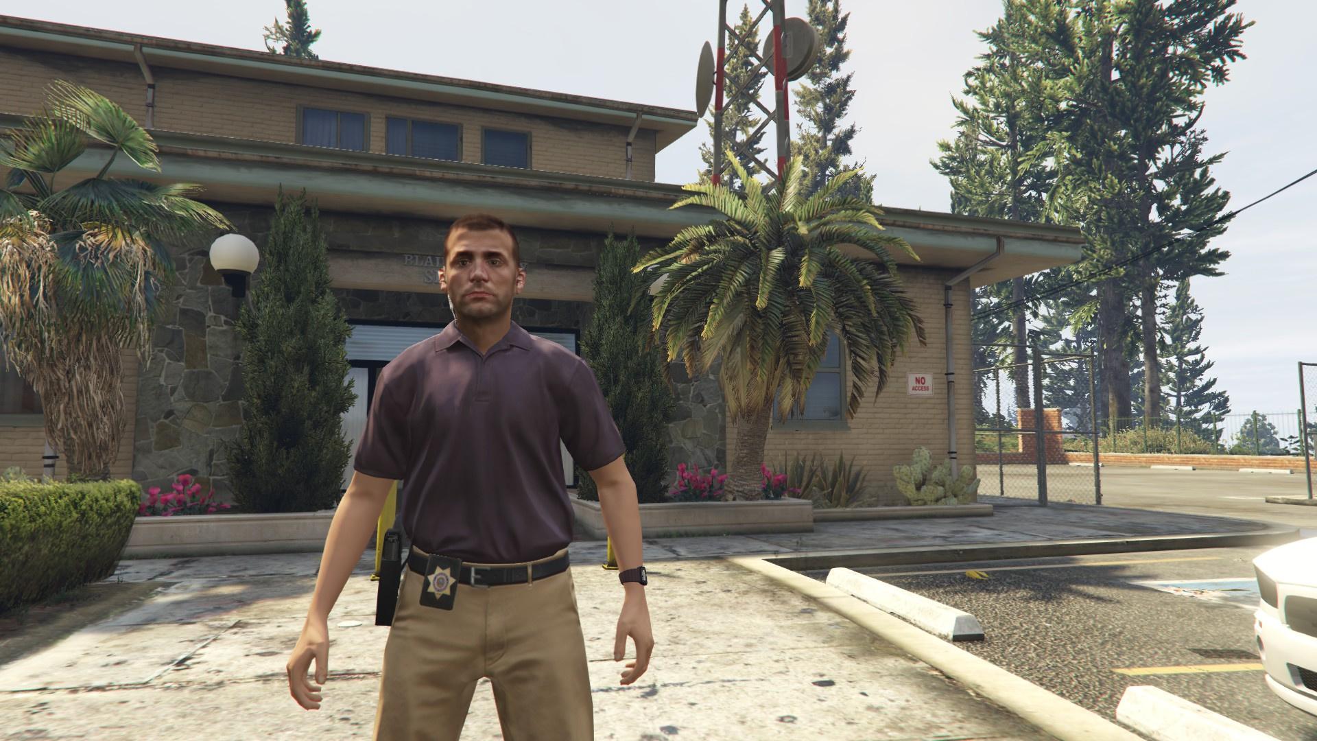 Gta 5 Los Santos Sheriff Texture